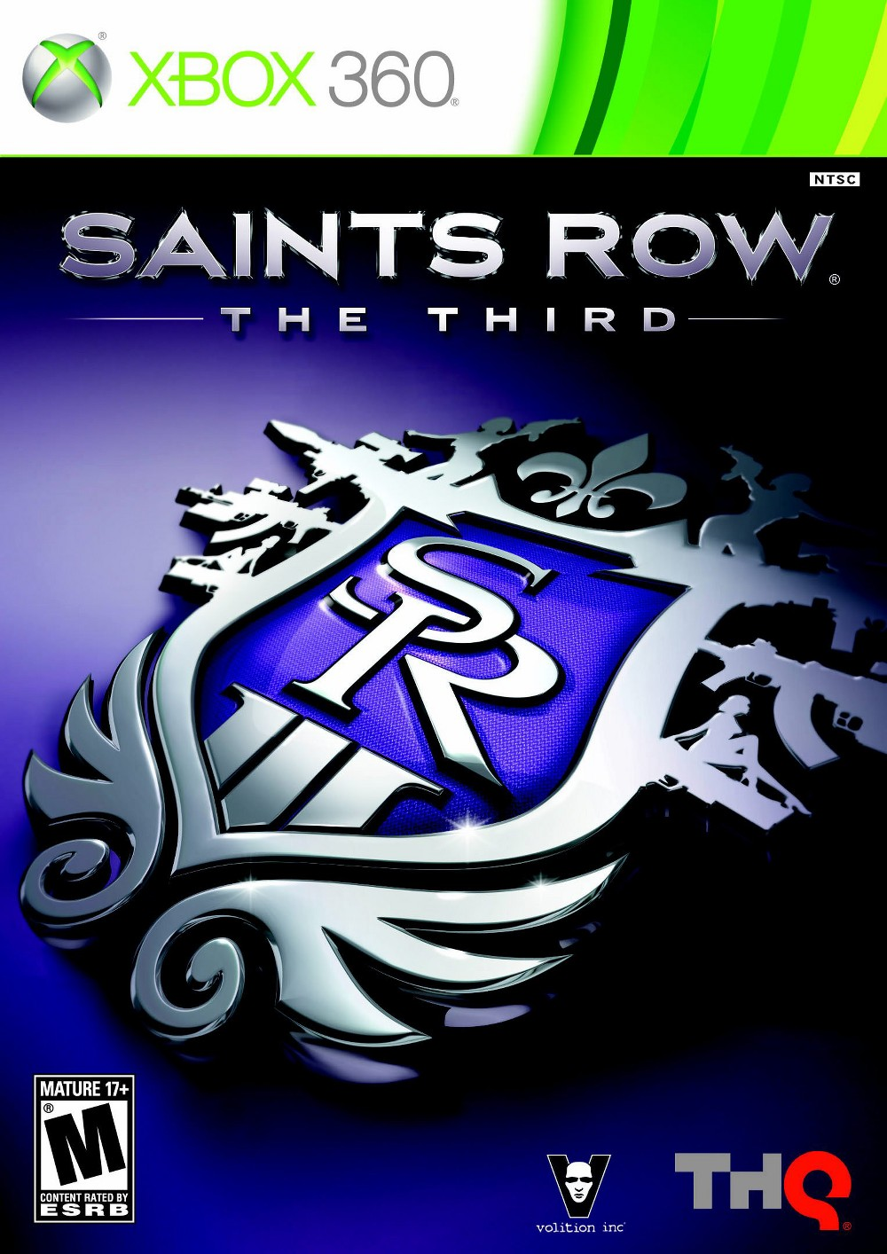 THQ Saints Row: The Third Xbox 360