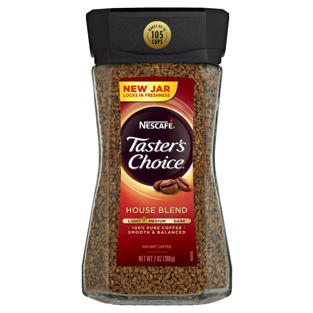 Nestlé Nescafé Taster's Choice House Blend Light Roast In...