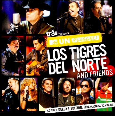 MTV Unplugged Los Tigres Del Norte and Friends (Deluxe Edition) - image 1 of 1