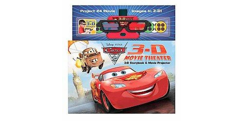 Disney - Pixar Cars 2 3D Movie Theater Storybook : Storybook & Movie Projector (Media Tie-In)