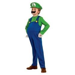 Nintendo Boys' Luigi Deluxe Costume