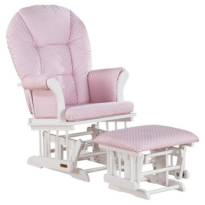Shermag Alexis Glider Rocker And Ottoman Combo. $159.99