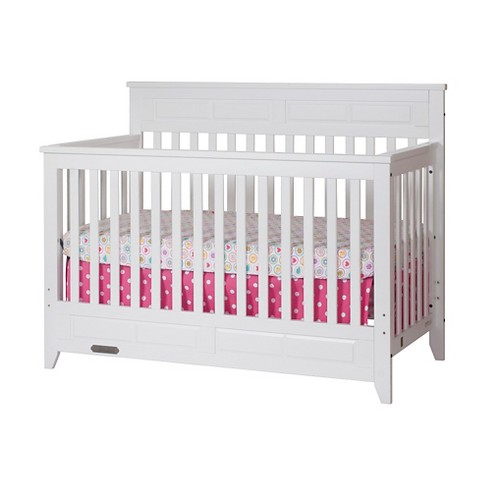 Child Craft Logan 4-in-1 Convertible Crib - White - image 1 of 6