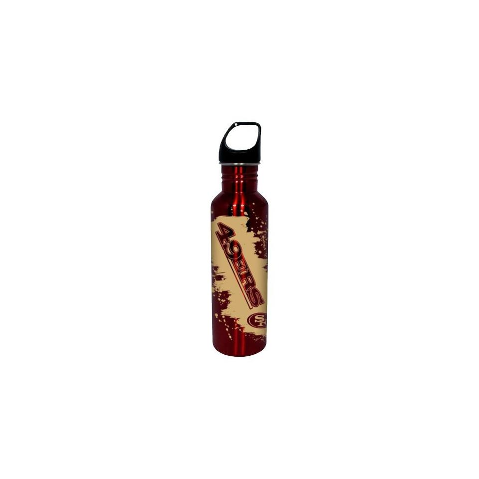 NFL San Francisco 49ers Water Bottle   Red (26 oz.)