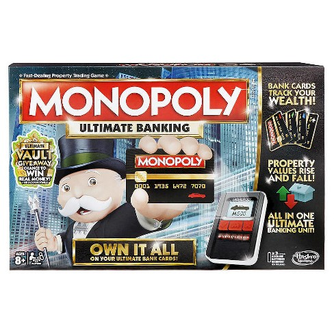 Monopoly electronic banking board game target monopoly electronic banking board game solutioingenieria Images