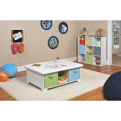 Awesome ClosetMaid 6 Cube Storage And Activity Table   White