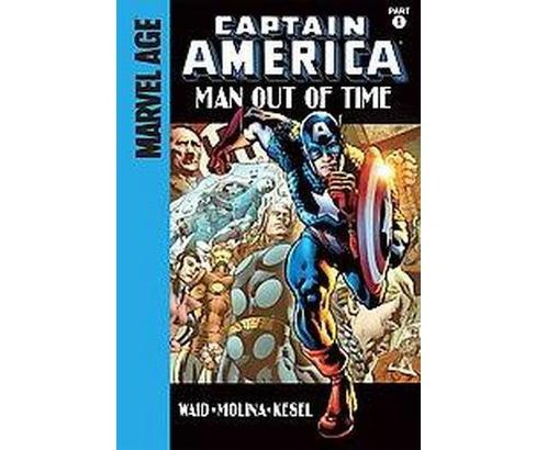 Captain America 1 : Man Out of Time (Library) (Mark Waid) - image 1 of 1