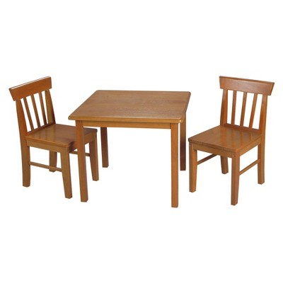 Gift Mark Square Kids Table 2 Chair Set