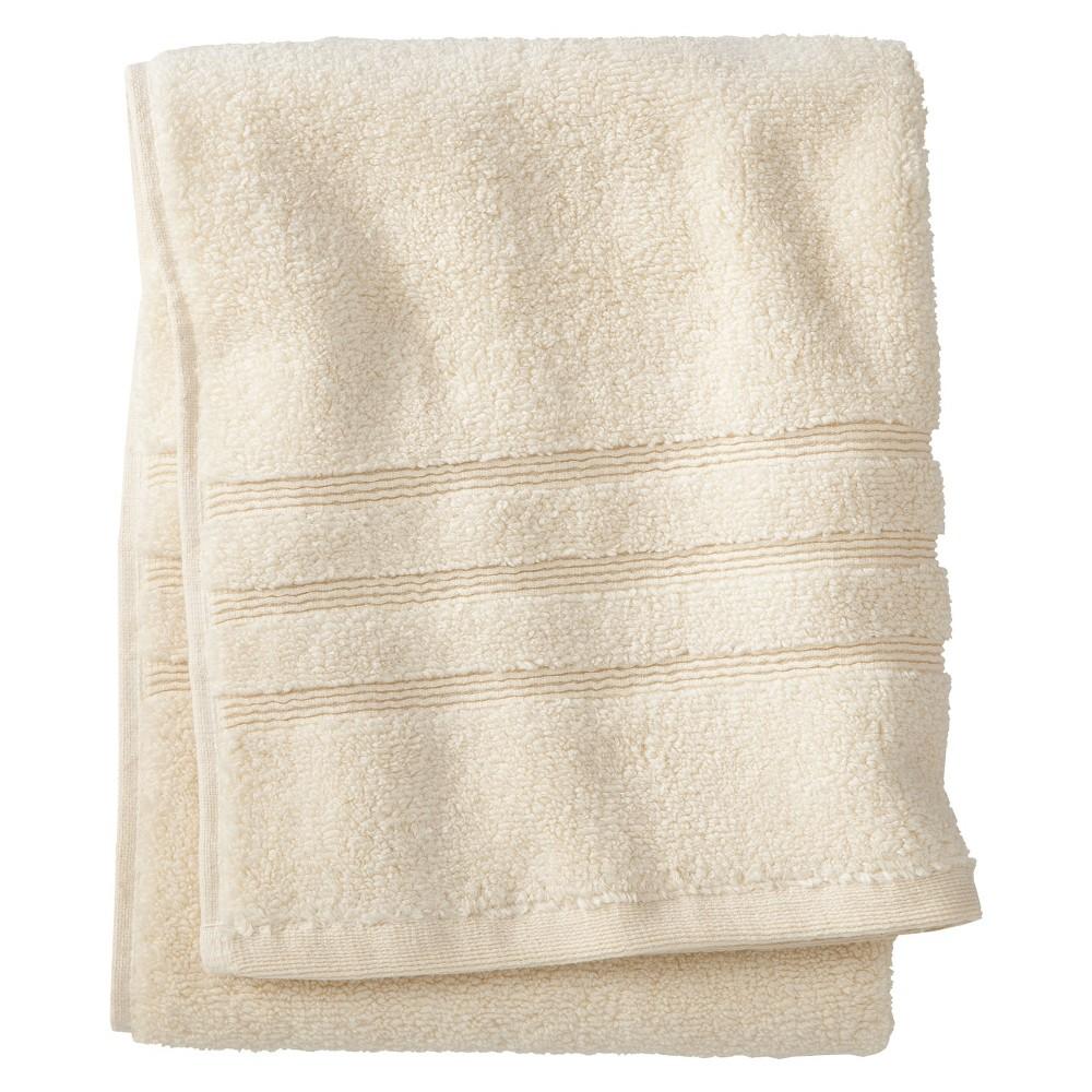 Luxury Hand Towel Shell (White) - Fieldcrest