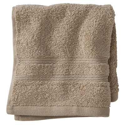 Luxury Wash Cloth Light Taupe - Fieldcrest™
