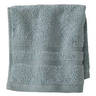 Luxury Wash Cloth Aqua Spill - Fieldcrest™