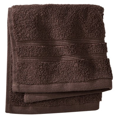 Luxury Wash Cloth Morel Brown - Fieldcrest™