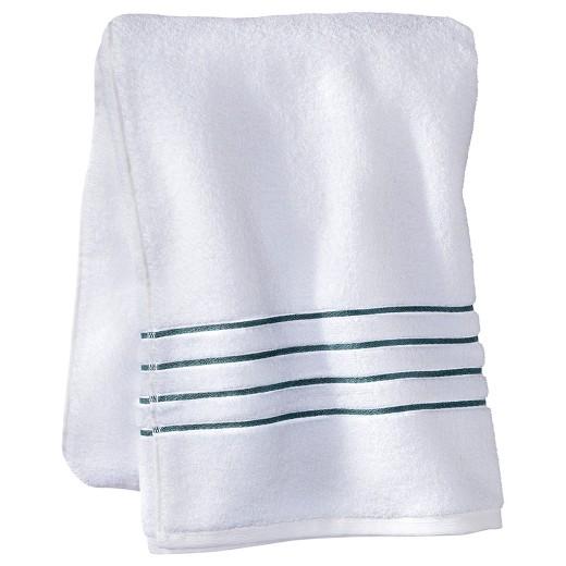 Luxury Stripe Accent Bath Towels Fieldcrest Target - Fieldcrest bath towels for small bathroom ideas