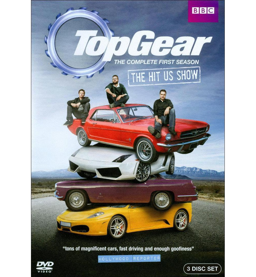 Top Gear USA: The Complete First Season [3 Discs]