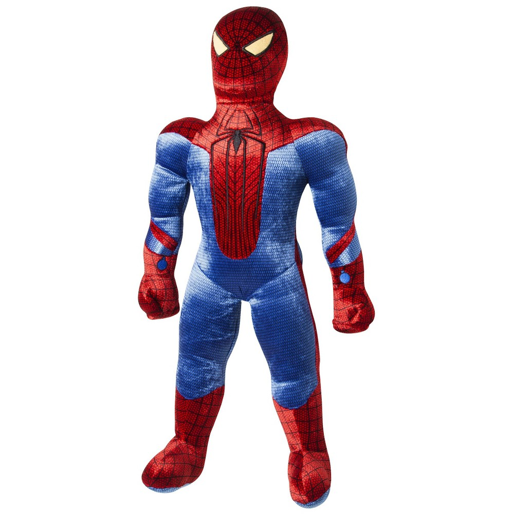Spider-Man Action Figure Throw Pillow, Multi-Colored