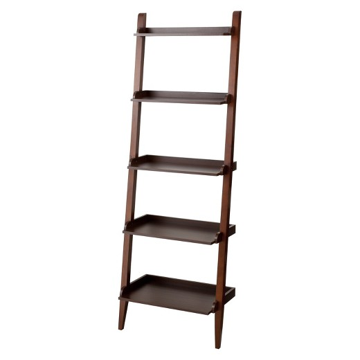 Carson Leaning Bookcase