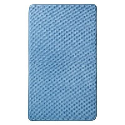 Mohawk Home Memory Foam Bath Mat - Basin Blue (20x34 )