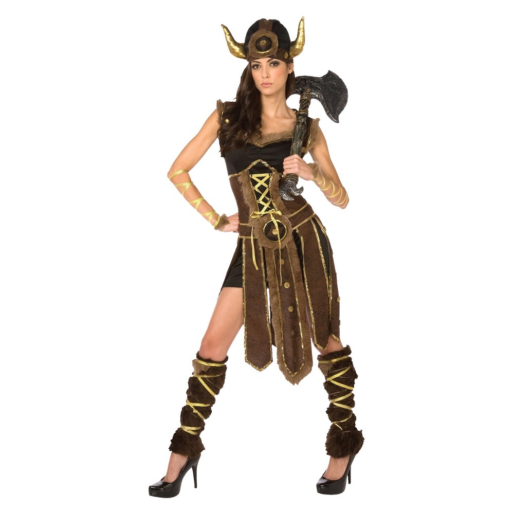 Women's Striking Viking Costume Large, Variation Parent