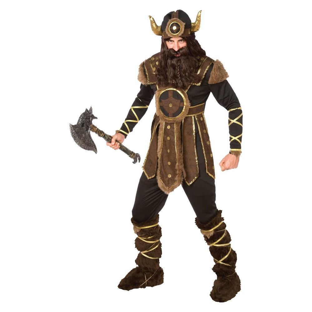 Mens Vicious Viking Costume Large