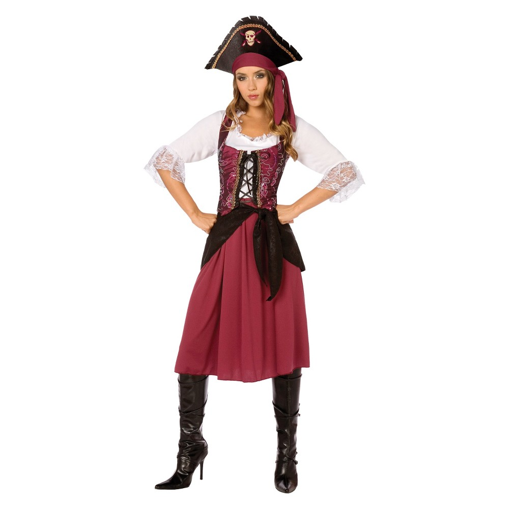 Pirate Wench Womens Costume - Small, Variation Parent