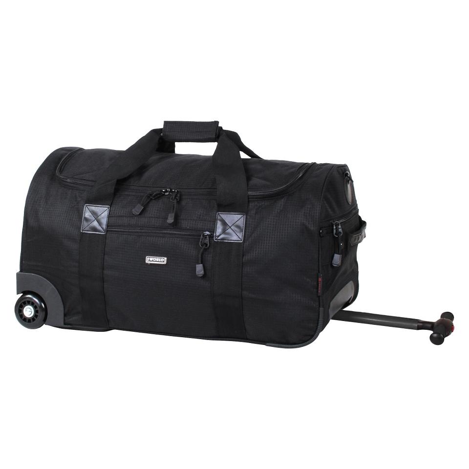 J World Tamarak Carry on Rolling Duffel Bag