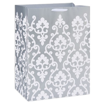 Silver Scroll Gift Bag - Spritz™