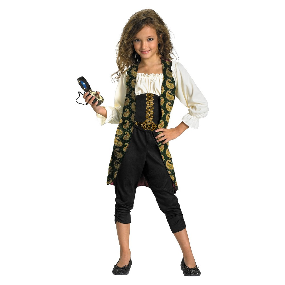 Girls Pirates of the Caribbean 4 - Angelica Costume, Size: S(4-6), Variation Parent