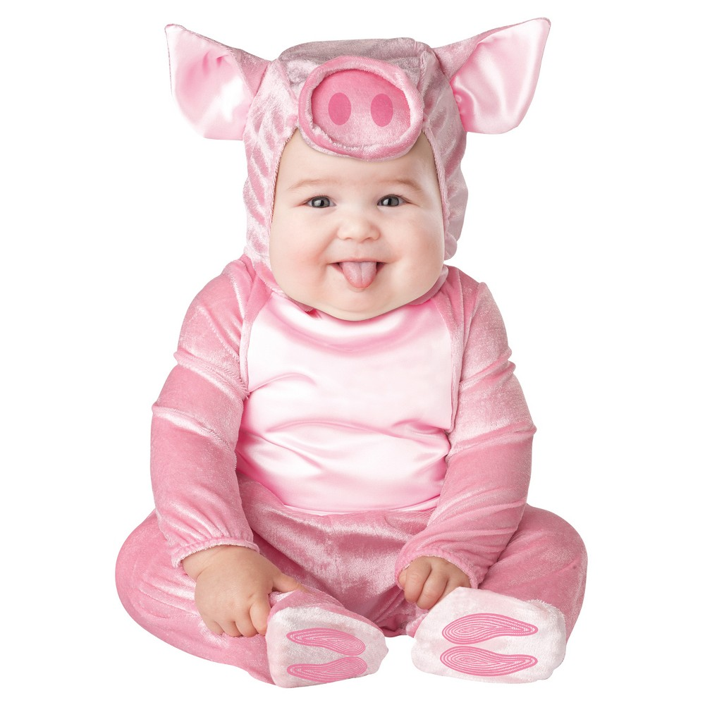 Baby/Toddler This Lil Piggy Costume 6-12M, Toddler Unisex, Size: 6-12 M, Pink