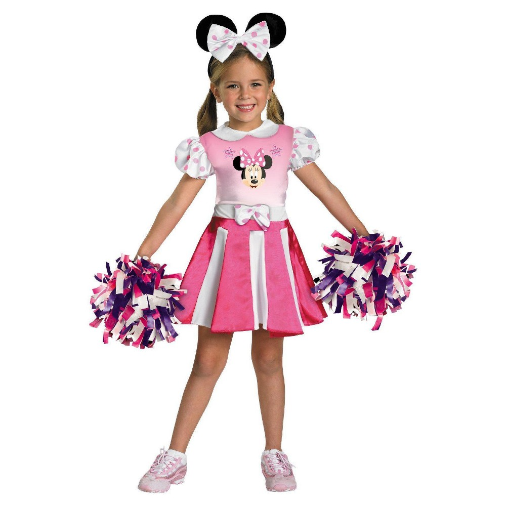 Minnie Mouse Girls Toddler Costume Mickey Mouse Clubhouse - 3T-4T, Variation Parent