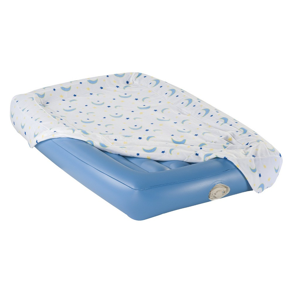 AeroBed Kids Air Mattress - Single High (Blue), Ivory Find Sleeping Pads, Airbeds and Cots at Target.com! Give your little one a comfortable place to sleep with this airbed from Aero. Perfect for sleepovers and camping, this quick-inflating bed includes a built-in pump. The carry bag offers easy storage and portability. Important: It is normal for air beds to stretch and decrease in air pressure during the first several uses (your air bed is not leaking). Simply add air to your desired firmness and the air pressure will stabilize over time. Open airbeds cannot be returned, but may be exchanged for a similar item. Size: 50x25 x4 . Color: Cream. Gender: Unisex.