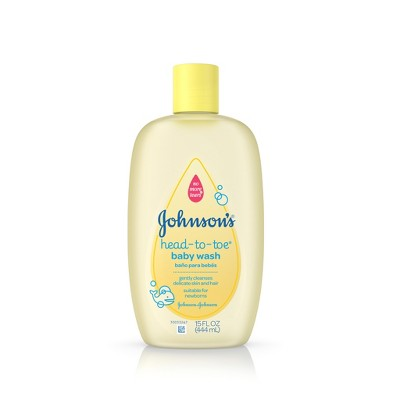 Johnson's Baby Head-to-Toe Body Wash 15 oz