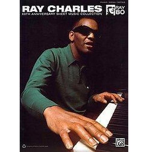 Ray Charles 80th Anniversary Sheet Music Collection : Piano/Vocal/guitar (Paperback) - image 1 of 1