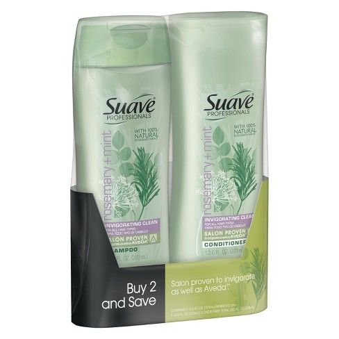 Suave Rosemary Mint Shampoo and Conditioner - 12.6oz,pk of 2 - image 1 of 1