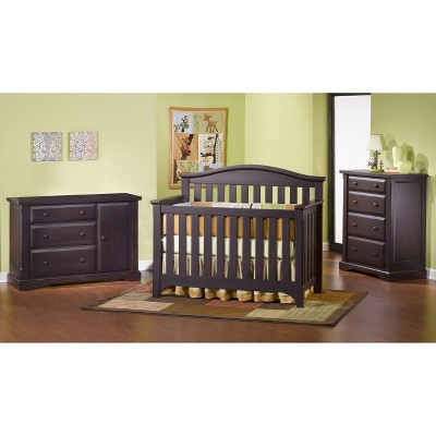 Childcraft Hawthorne Nursery Furniture Collection   Espresso : Target