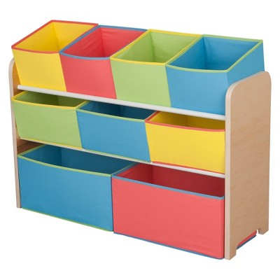 Delta Children® Deluxe Toy Organizer with Colorful Bins