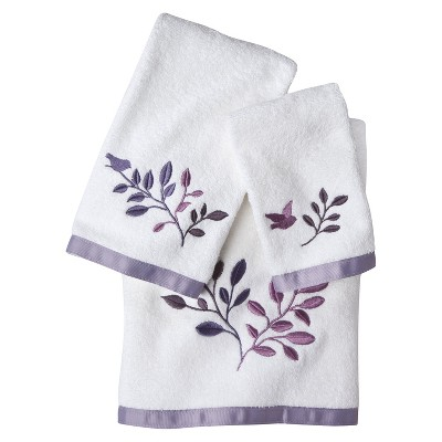Avery Bath Towel 3pc Set Off White - Allure Home®