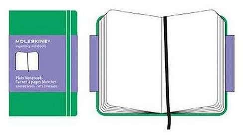 Moleskine Plain Extra Small Grass Green Notebook (Hardcover) - image 1 of 1