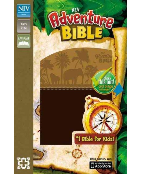 NIV Adventure Bible : New International Version Chocolate/ Toffee Italian Duo-Tone (Paperback) - image 1 of 1