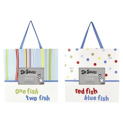Dr Seuss One Fish Frame Set