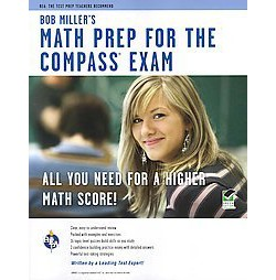 Bob Miller's Math Prep for the COMPASS Exam (Paperback)
