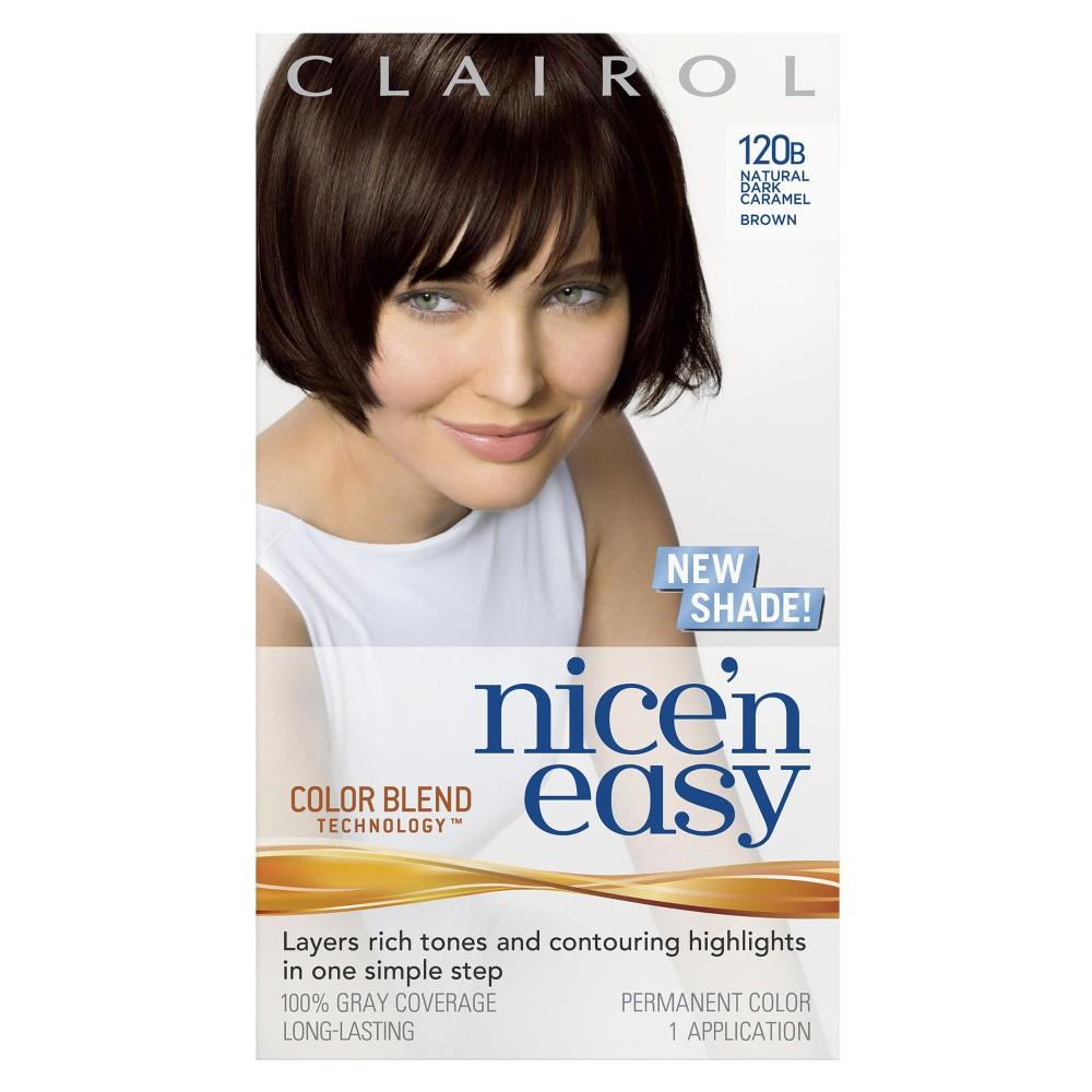 Clairol Nice N Easy Hair Color - 120B Natural Dark Carame...