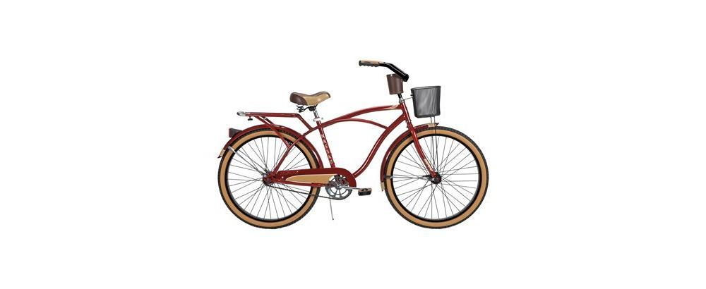 Huffy Nassau 26 Mens Cruiser Bike - Red