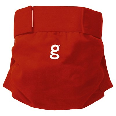 gDiapers gPants - Good Fortune Red, Small