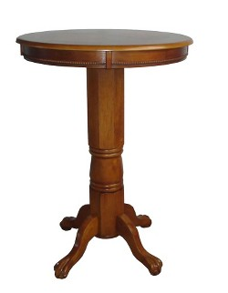 Florence Pedestal Pub Table - Boraam Industries