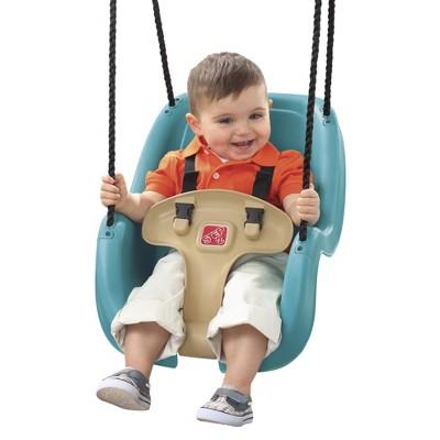 Step 2 T Bar Toddler Swing - Turquoise/Tan