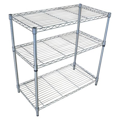 Room Essentials™ 3-Tier Chrome Wire Shelving