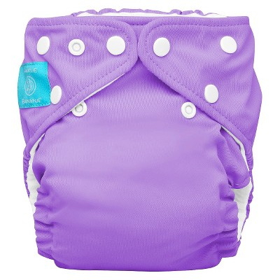 Charlie Banana Reusable Diaper 1 pack One Size - Purple