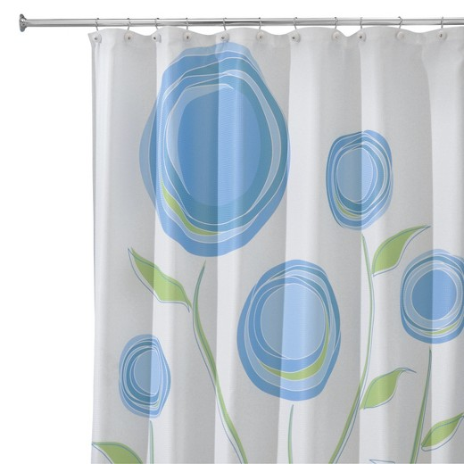 interdesign marigold shower curtain target. Black Bedroom Furniture Sets. Home Design Ideas