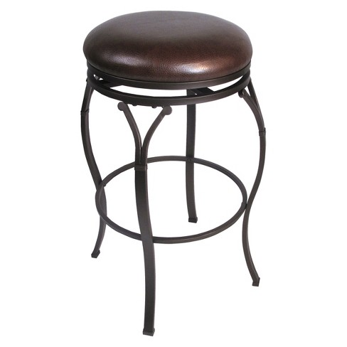 "Lakeview Backless 30"" Barstools Metal/Brown - Hillsdale Furniture - image 1 of 1"