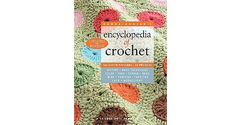 Donna Kooler's Encyclopedia of Crochet (Updated / Revised) (Paperback) - image 1 of 1